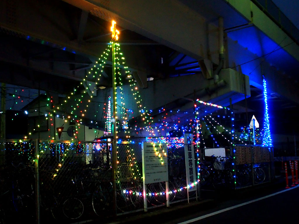 門沢橋駅「イルミネーション」01