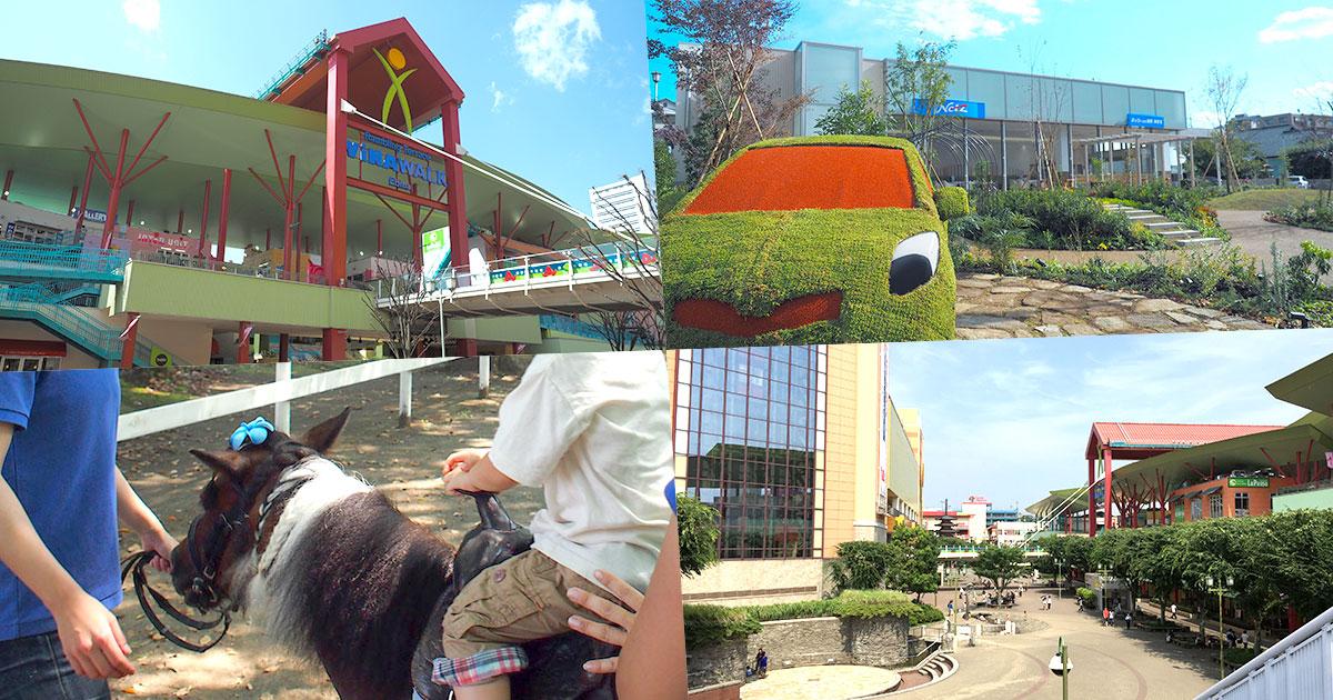 ビナウォーク/ネッツトヨタ湘南海老名店/ポニー広場/中央公園