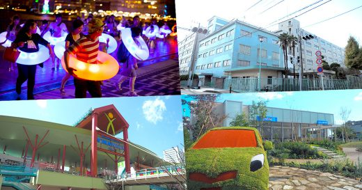 ViNA GARDENSアートイベント『花のロンド』/アツギバザー/ビナウォーク/ネッツトヨタ湘南