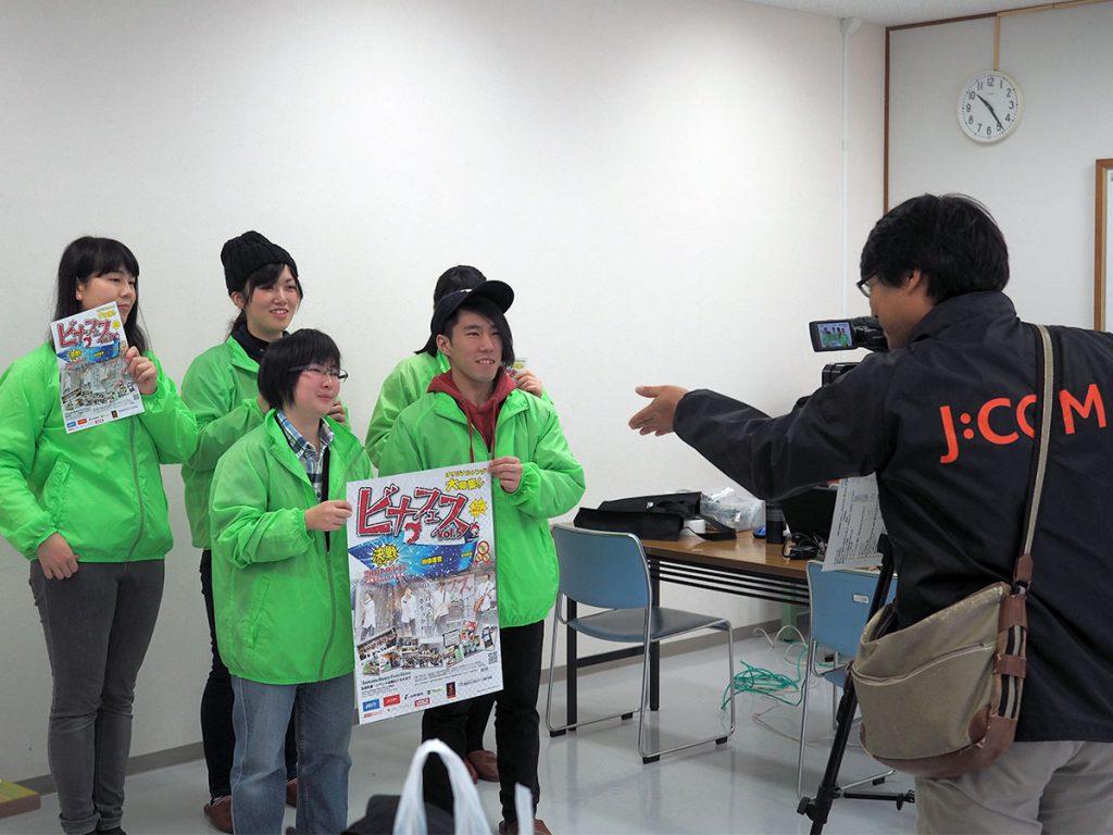 J:COM「デイリーニュース」収録の様子②