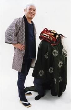 ららぽーと海老名新春イベント「獅子舞」
