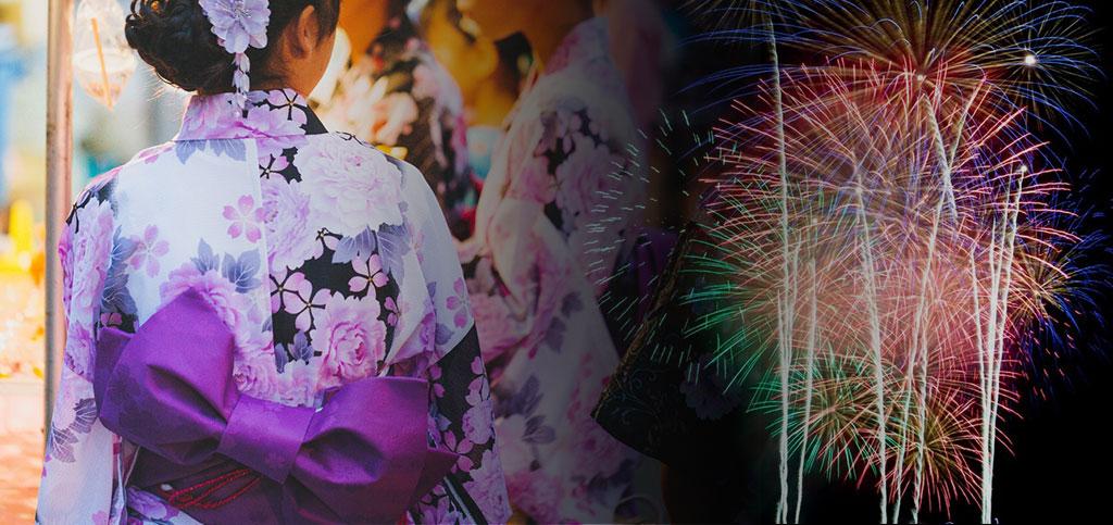 お祭り・浴衣/花火
