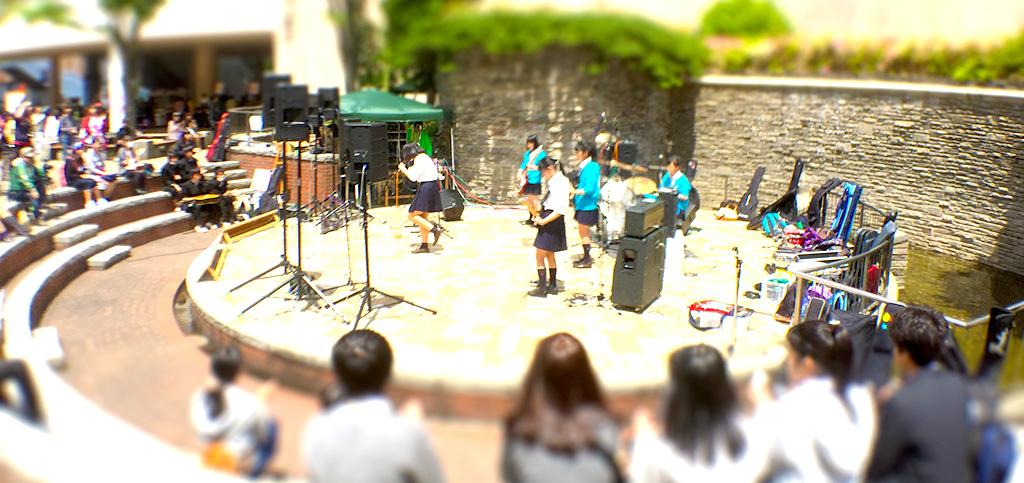 海老名中央公園 円形ステージ