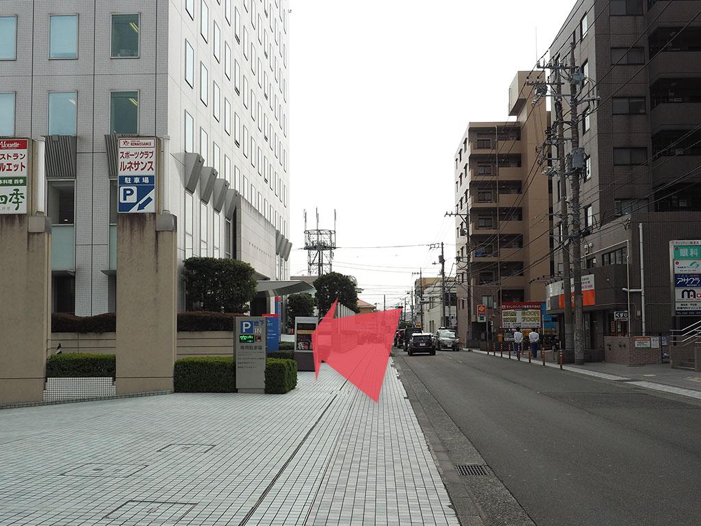 海老名市民ギャラリー アクセス 徒歩 道順 09