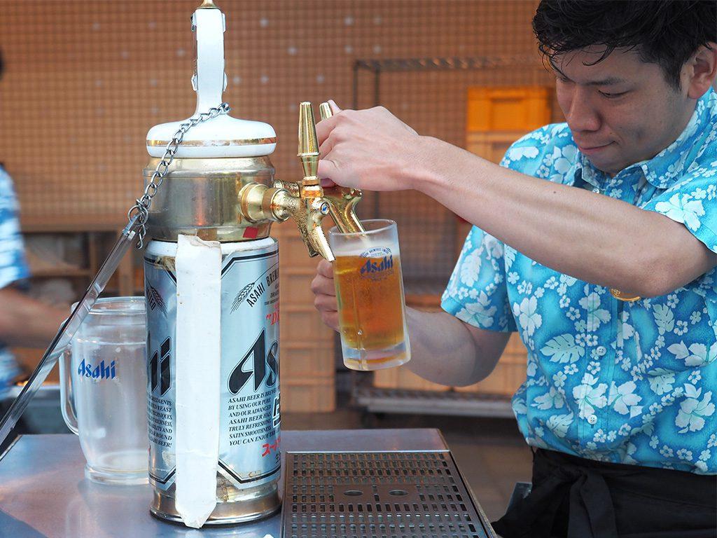 ビールは一杯入魂!