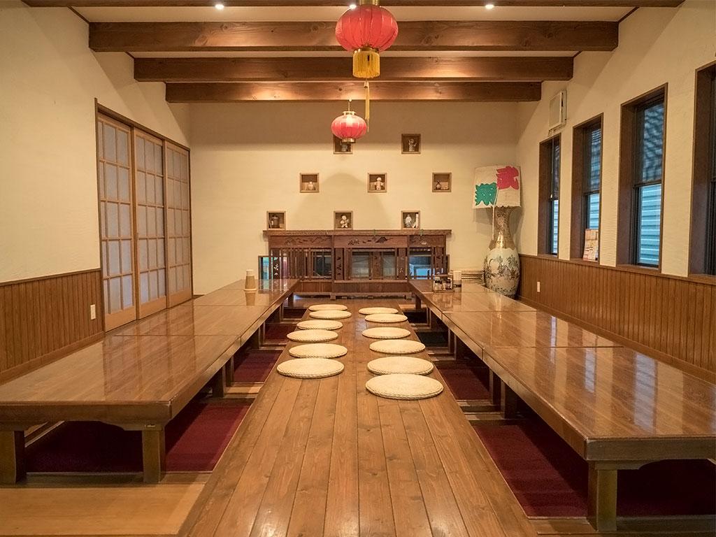 中華料理「中華うぶかた」店内 宴会場