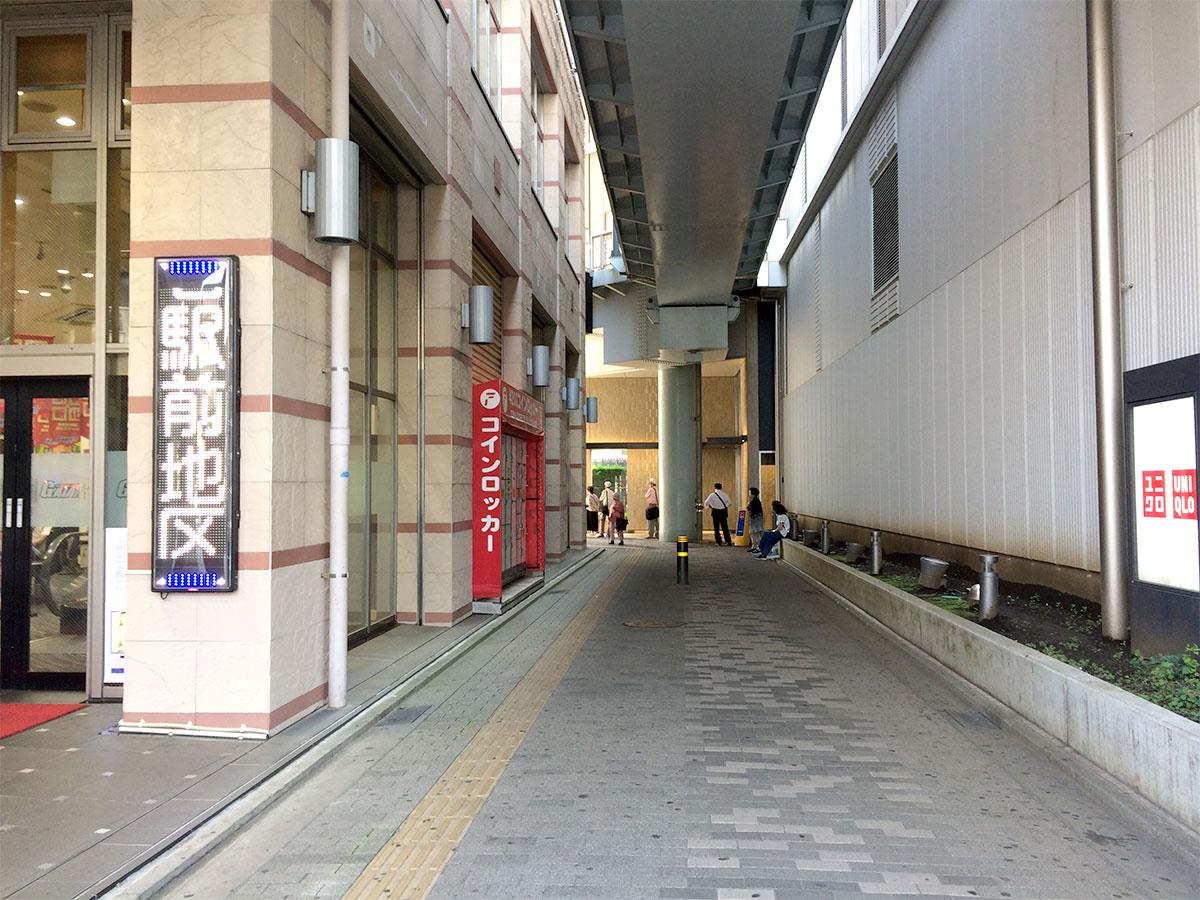 パチンコ ガイアネクスト海老名駅前店のコインロッカー
