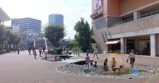 海老名駅すぐ海老名中央公園で水遊び!