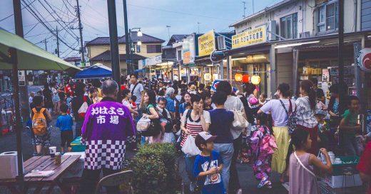 国分寺台中央商店街 夏祭り