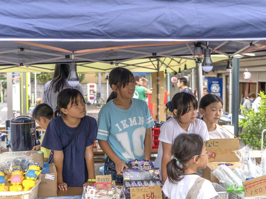 国分寺台商店会 夏祭り 模擬店