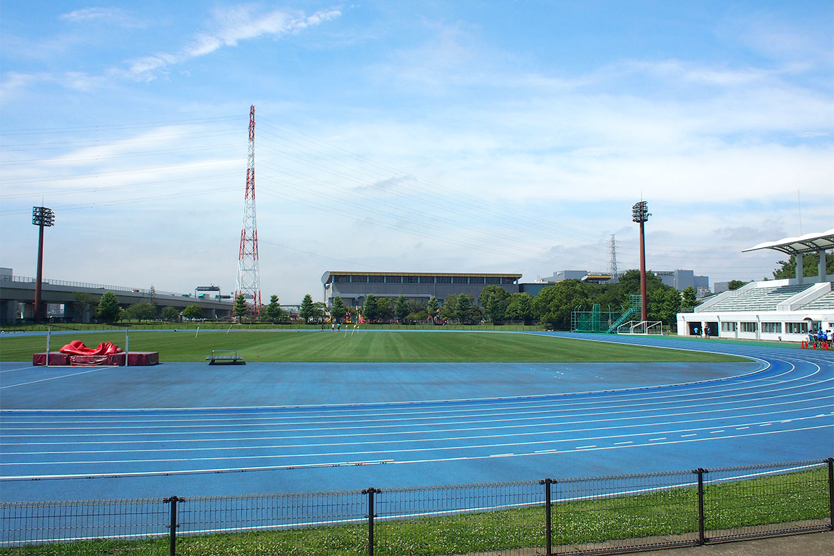 海老名運動公園 陸上競技場