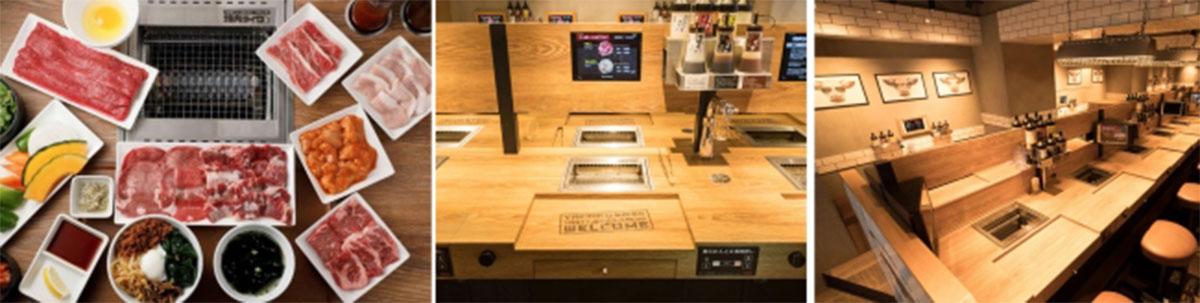 「焼肉ライク」は、1人1台の無煙ロースターを導入し、自分のペースで好きな部位を好きなだけ自由に楽しむことができるファストフード感覚の焼肉店。