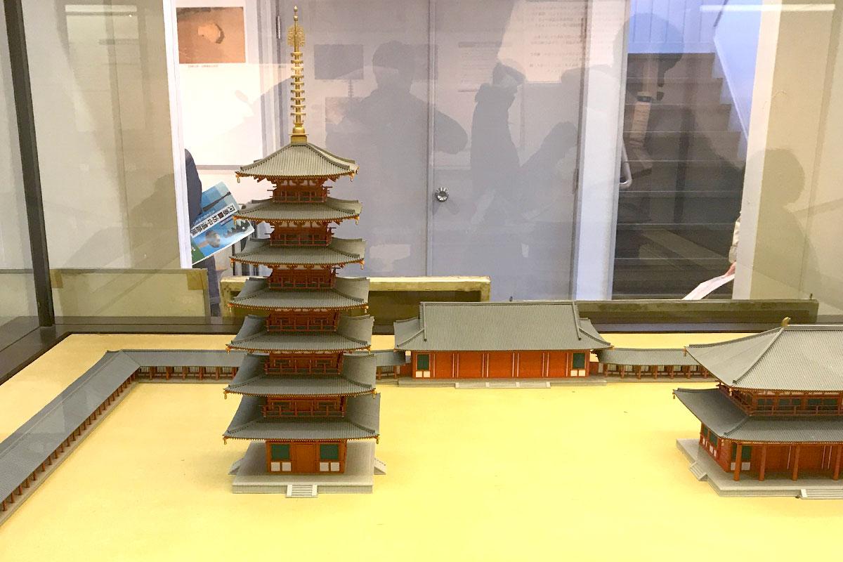 郷土資料館「海老名市温故館」相模国分寺 模型