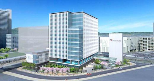 海老名駅間地区「ViNA GARDENS」に14階建て最新オフィスビルを建設 2022年春の開業予定