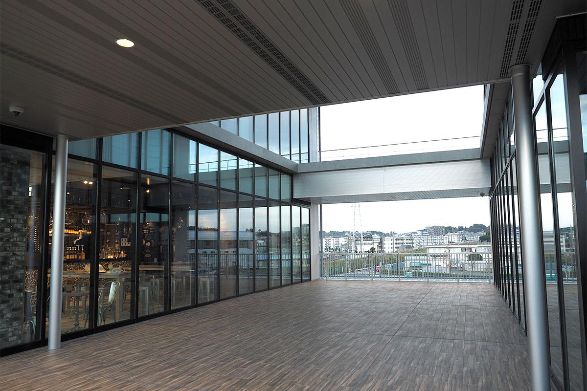ViNA GARDEN (仮称)オフィス棟 駅直結のアクセス