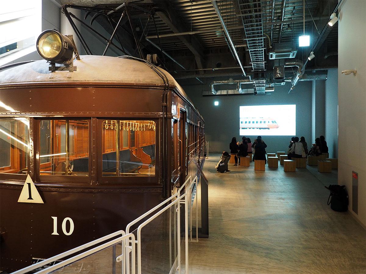 小田急線で最初の車両「モハ1」