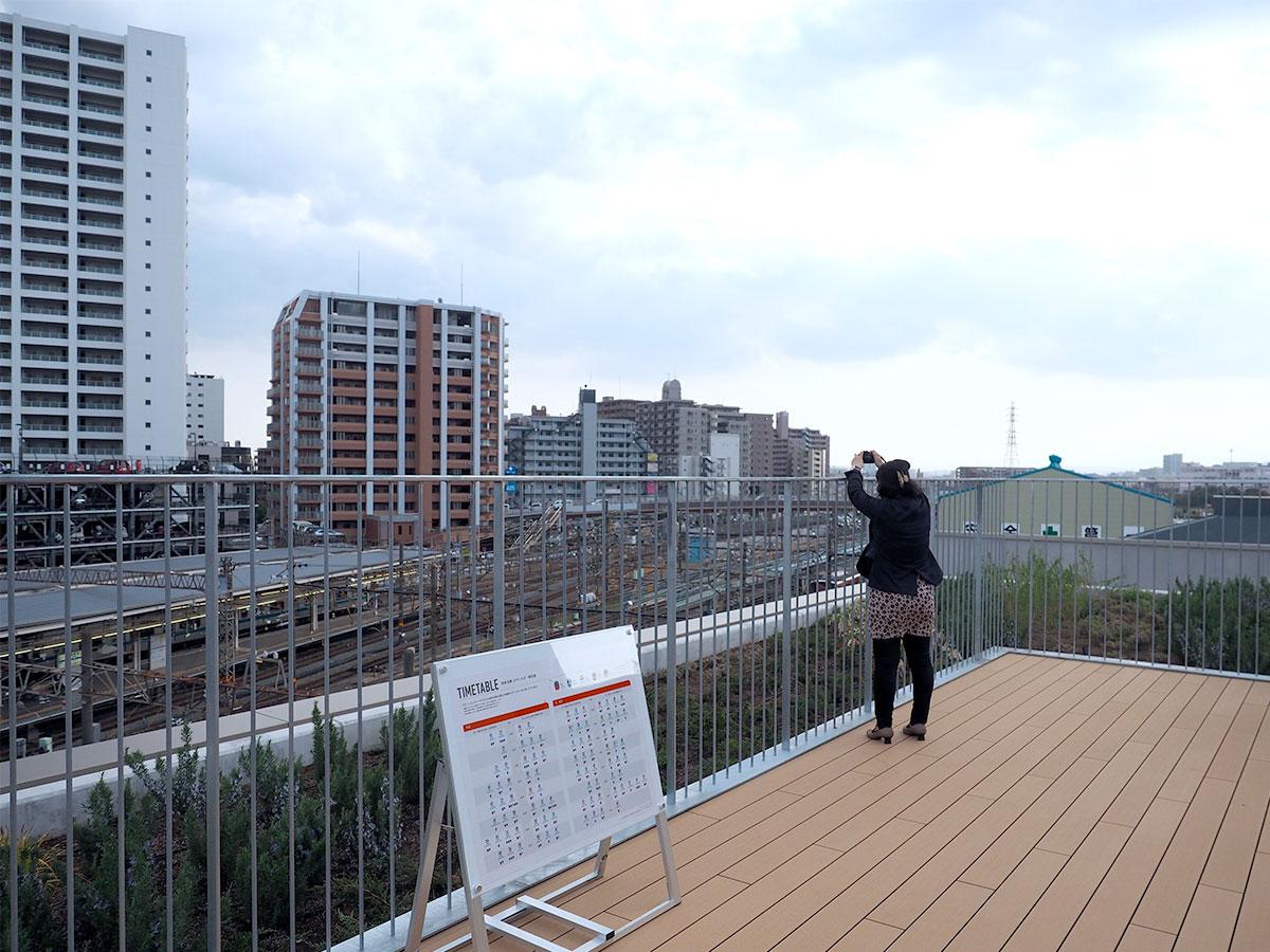 ステーションテラス(屋上)